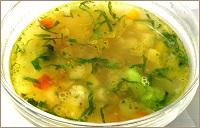 Сколько варить овощной суп