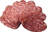 Сколько весит кусок колбасы