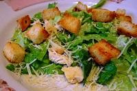 Сколько калорий в салате цезарь